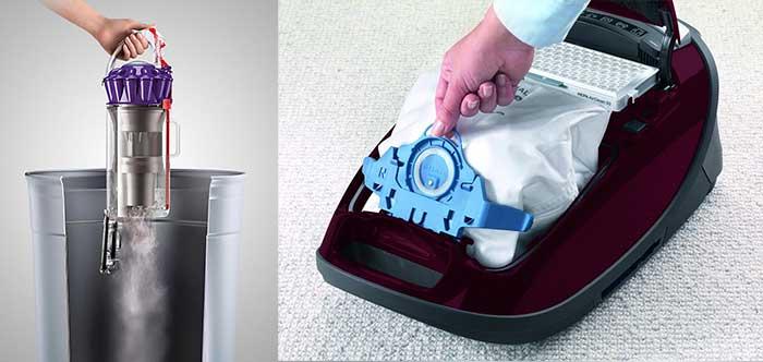 Bagless vs Bagged Vacuum For Pet Hair