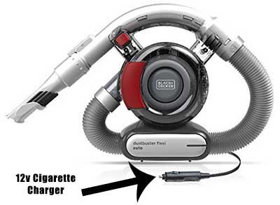 12v Car Charging Vacuum