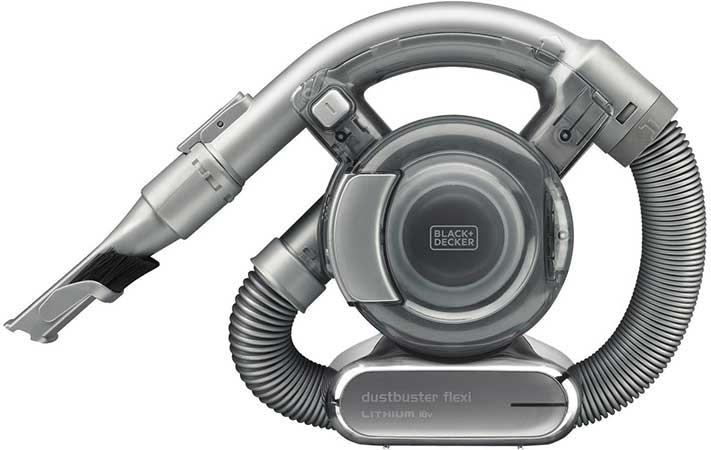 Black + Decker 18v dustbuster flexi vacuum