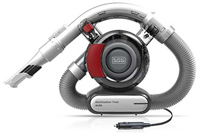 black + Decker Felxi Auto Dustbusting Handheld Vacuum For Car Cleaning