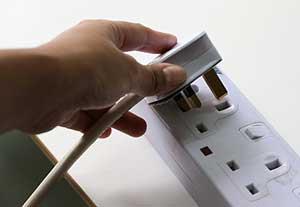 Plug Going Into Socket