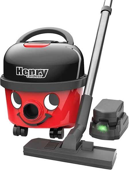 Henry Cordless Hepa Vacuum