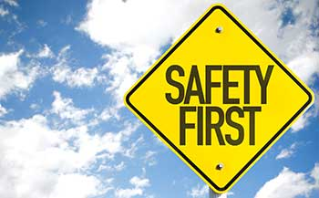 Petrol Washer Safety
