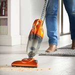 Orange Lightweight Vacuum cleaning crumbs