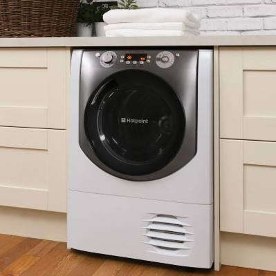 Hotpoint Aqualtis AQC9BF7E1 9Kg Condenser Tumble Dryer