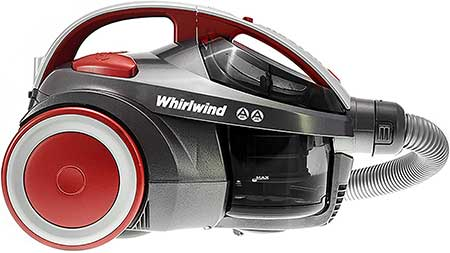 Hoover Whirlwind Pets Bagless Cylinder Vacuum Cleaner
