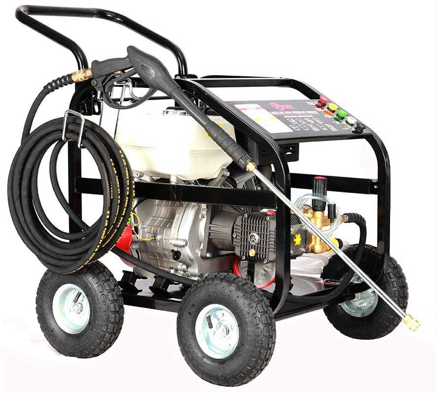 Kiel Heavy Duty Petrol Power Washer 15HP