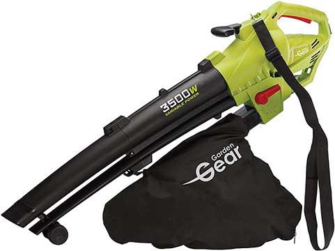 Garden Gear Leaf Blower Vacuum & Shredder Mulcher Electric 3 in 1