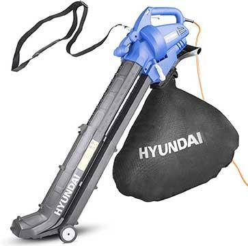 Hyundai 3 in 1 Lightweight Electric Leaf Blower Vacuum & Shredder