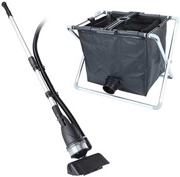 Koi Fish Pond Vacuum Cleaner & Dirt Collector Bag Kit 8500