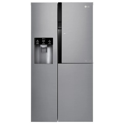 LG Door-in-Door™ GSJ560PZXV American Fridge Freezer - Steel