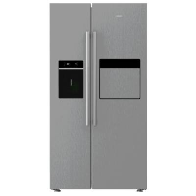 Leisure LASP41MPX American Fridge Freezer - Brushed Steel