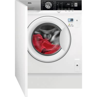 AEG ProSteam Technology L7FE7461BI Integrated 7Kg Washing Machine with 1400 rpm