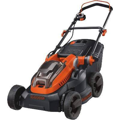 BLACK+DECKER Lithium-Ion Lawn Mower with Two 2 Ah Batteries