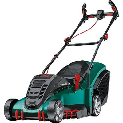 Bosch Rotak 430 LI Cordless Lawnmower with Two 36 V Lithium-Ion Batteries