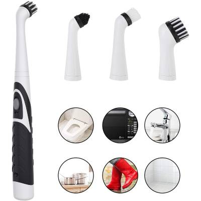 DERCLIVE 4in1 Electric Scrubber Cleaning Brush