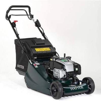 H Hayter Harrier 48 Electric Start Rear Roller Petrol Lawnmower