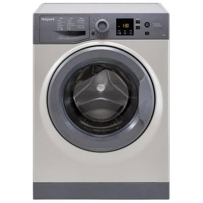 Hotpoint NSWM743UGGUK 7Kg Washing Machine with 1400 rpm - Graphite