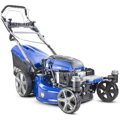 Hyundai Self Propelled ZERO-TURN 360 degree 51cm Cut Petrol Lawnmower
