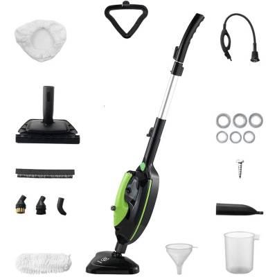 Moolan Steam Mop Handheld Cleaner Upright Multi Purpose All-in-One Carpet Floor 1500W