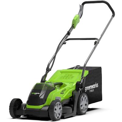 Greenworks battery-powered lawnmower G40LM35K