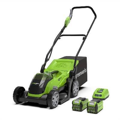 Greenworks G40LM35K2X Tools Cordless Lawnmower