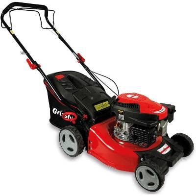 Grizzly petrol lawnmower BRM 4615-22 A - rear wheel drive - 46 cm cutting width