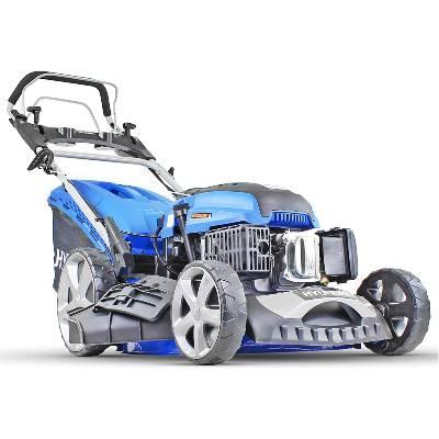Hyundai Petrol Lawnmower Self Propelled Push Button Electric Start Lawn Mower HYM510SPE