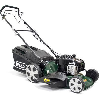 Webb WER18HW Supreme Self-Propelled Hi-Wheel Petrol Lawnmower