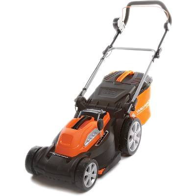Yard Force 40V 37cm Cordless Lawnmower with 2.5AH Lithium-ion Battery and Quick Charger