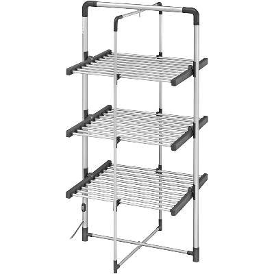 BLACK+DECKER BXAR0005GB 3-Tier Heated Clothes Airer