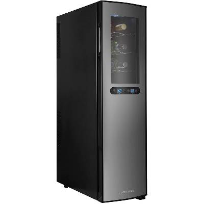 Cookology Dual Zone TWC18BK 18 Bottle Thermoelectric Wine Cooler