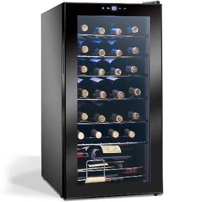 Display4top 28 Bottles Wine Fridge