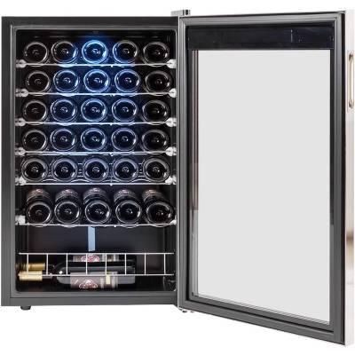 Smad 33 Bottles Freestanding Wine Cooler