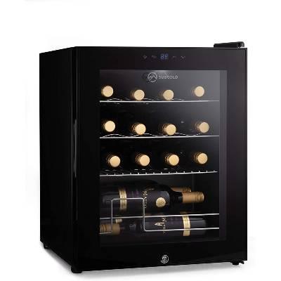 Subcold Viva16 LED – Table-Top Wine Fridge Black