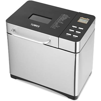 Tower T11005 Digital Bread Maker with Adjustable Crust Control