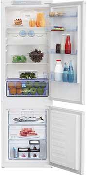 BEKO HarvestFresh BCFD3V73 Integrated 70 30 Fridge Freezer